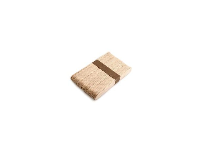 Dřevěné špachtle 1,8x15 cm, velké, 50ks