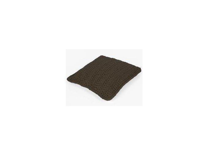 SET Hoooked RibbonXL polštář - Tabacco Brown