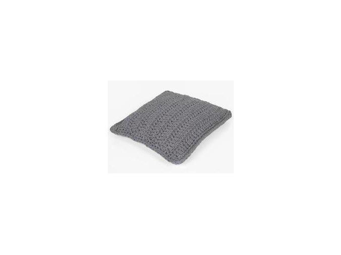 SET Hoooked RibbonXL polštář - Stone Gray
