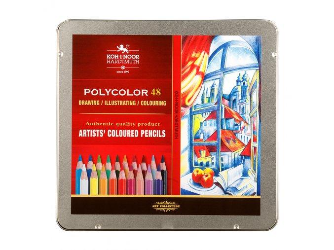 Sada pastelek Koh-I-Noor Polycolor (48ks)