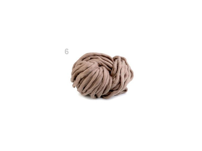 EKO MERINO 250g - hnědá přírodní
