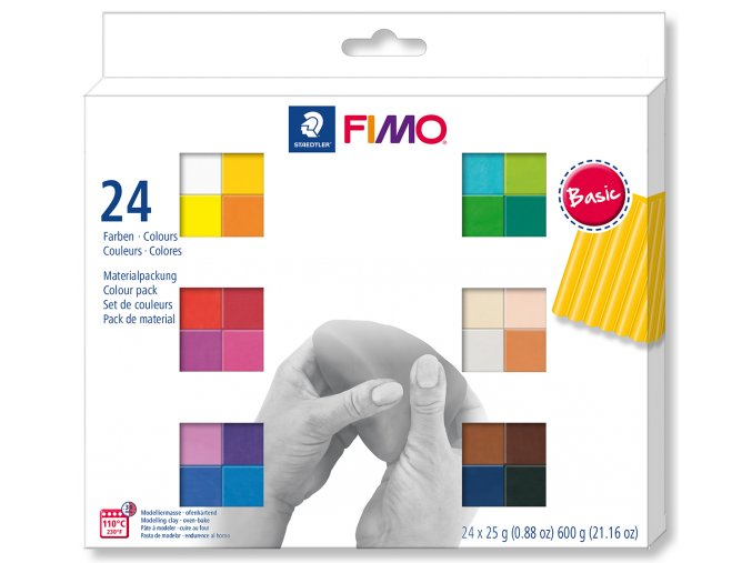 FIMO Soft sada 24 barev 25 g BASIC
