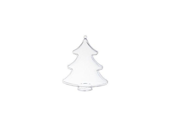 Plastový strom dvoudílný; 10 cm