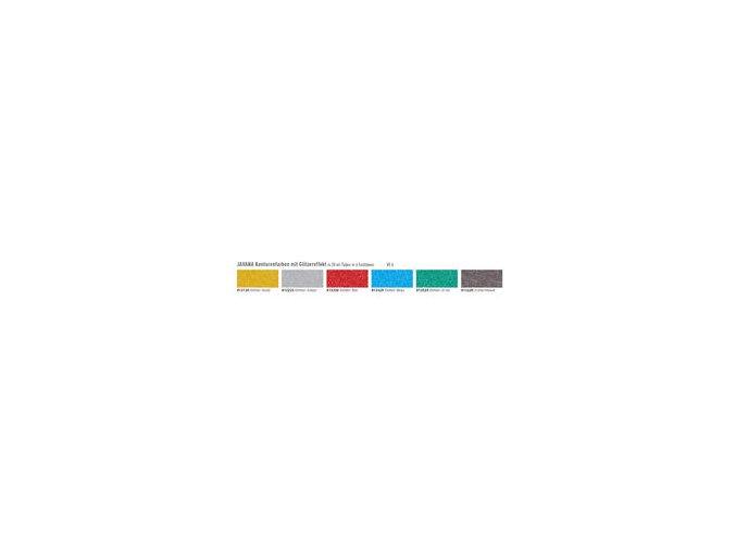 Kontury glitrové JAVANA (20 ml) hedvábí+textil - 6 odstínů