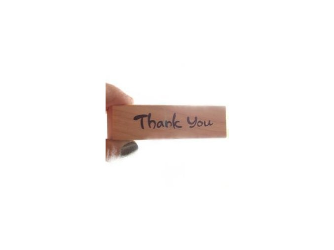 Razítko - Thank You (70x18x25 mm)