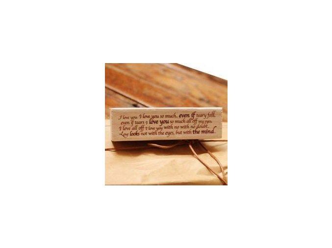 Razítko - Text (70x18x25 mm)
