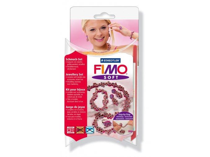 """Fimo Soft šperková sada """"Romantika"""""""