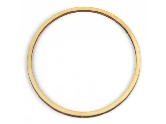Dřevěný kruh (1ks)
