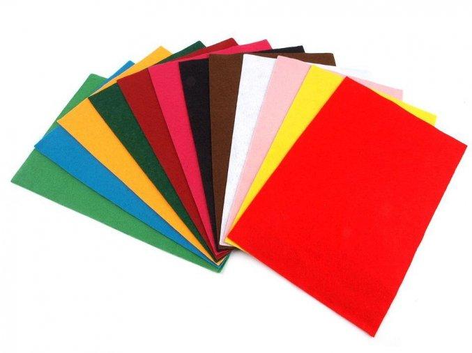Filc / plsť 20x30 cm, tl. 1,1-1,4mm