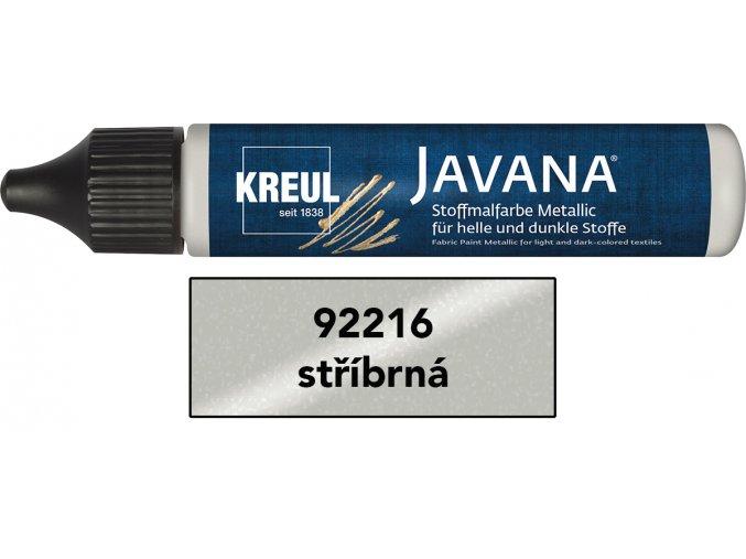 Barva na tmavý textil - metalická (29 ml) - 18 odstínů