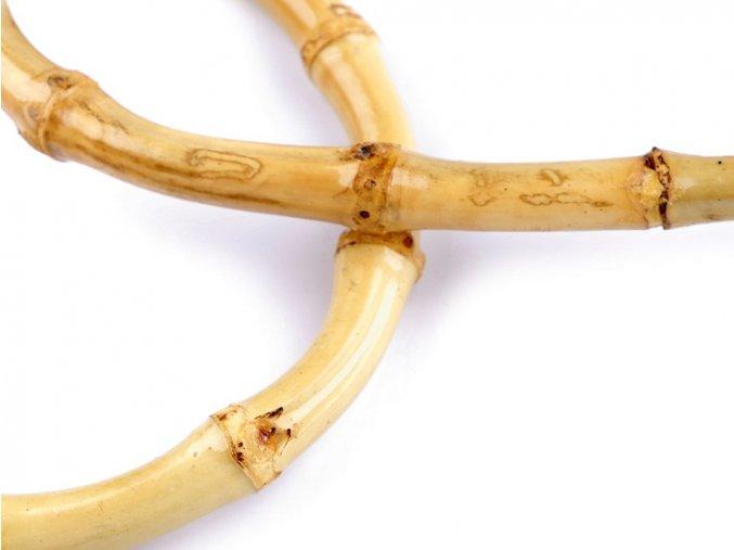 Ucho na tašku - 15 x 18 cm, bambusové