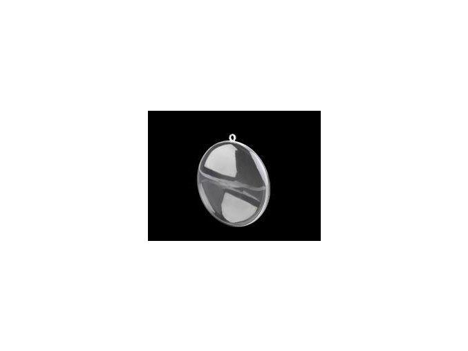 Plastový medailon ?90 mm dvoudílný