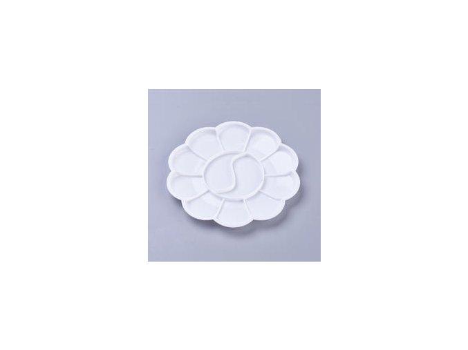 Paleta ve tvaru květiny 14,4 cm, plastová