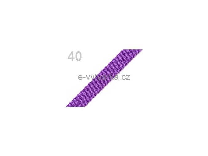 Popruh polypropylén š.20mm (5m) - ostružinová