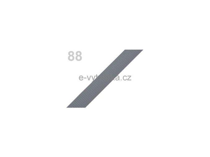 Popruh polypropylén š.20mm (5m) - šedá stř.