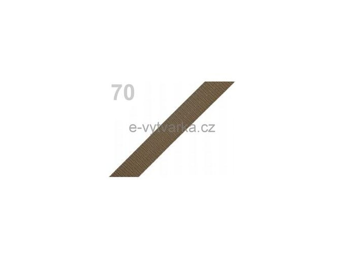 Popruh polypropylén š.20mm (5m) - avokádo