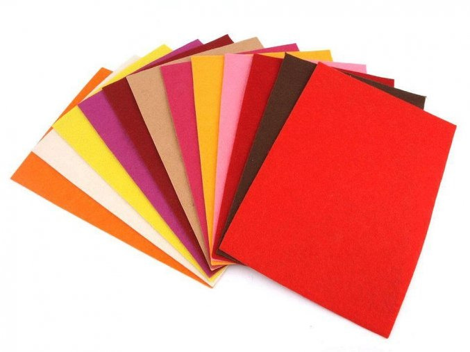 Filc / plsť 20x30 cm, 1,5-2mm - 24 odstínů