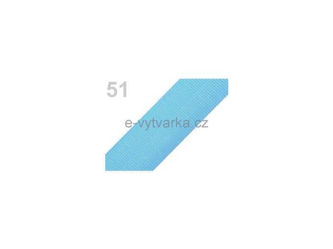 Popruh polypropylén š.50mm (5m) - modrá azuro