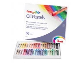 Olejové pastely Pentel 36ks