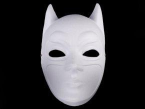 Maska na obličej k domalování - Batman