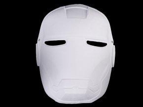 Maska na obličej k domalování robot