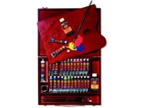 Set olejových barev a doplňků Solo Goya (35 ks)