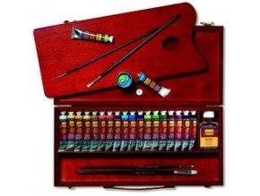 Set olejových barev a doplňků Solo Goya (25 ks)