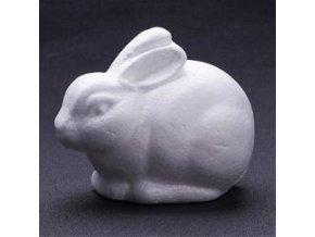 Polystyrenový králíček 10,5 cm
