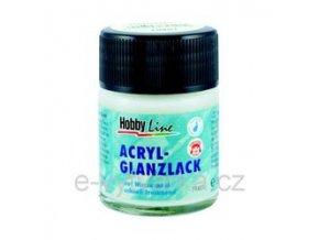 Akrylový lak na vodní bázi Hobby Line (50 ml) - lesklý