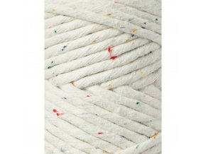 Bobbiny Macrame REGULAR (3mm) - RAINBOW DUST