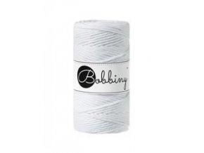 Bobbiny MACRAME Regular (   3mm) - WHITE