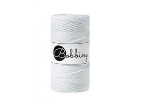 Bobbiny Macrame REGULAR (3mm) - WHITE