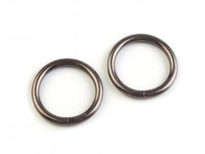 Kroužek Ø25 mm na koženou galanterii (10ks) - více barev