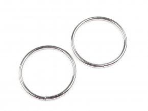 Kroužek jednoduchý pr.33mm (10ks) - nikl