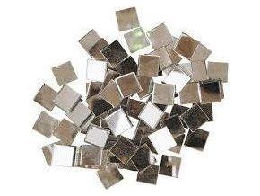 Skleněná mozaika, 20x20 mm (53 ks) - zrcadlová