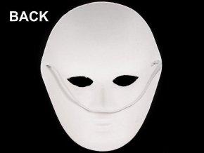 Maska na obličej, dámská papírová (17x22 cm)