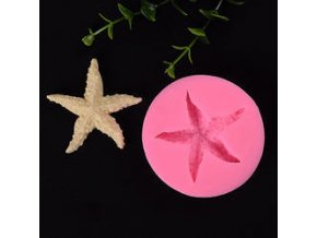 Silikonová forma hvězdice 66x13mm