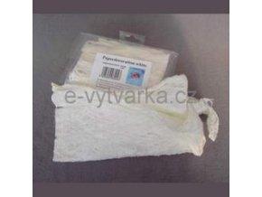 Přírodní papírová vlákna (40g) - bílá