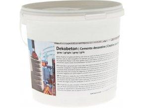 Dekobeton - dekorační beton (2,5kg) - šedý