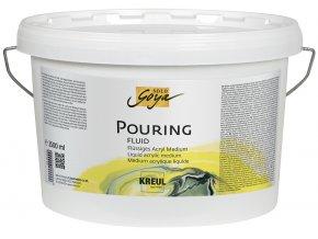 Pouring fluid akrylové médium SOLO GOYA - 3 velikosti