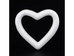 Polystyrenové srdce  12x14cm