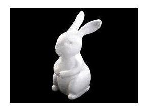 Polystyrenový zajíček 16 cm
