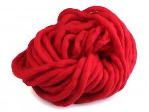 EKO MERINO 250g - červená tmavší