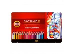 Sada pastelek Koh-I-Noor Polycolor (36ks)