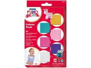 """FIMO Sada Kids """"holčičí"""" -  6 barev"""