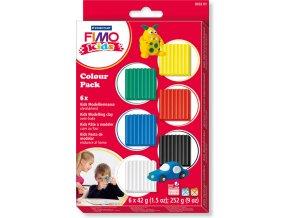 FIMO Sada Kids základní -  6 barev