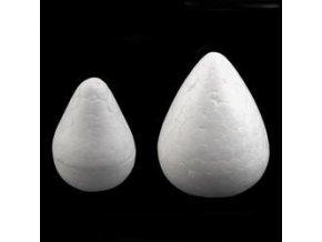 Polystyrenová kapka, hlavička, hruška, květinový střed... 2,8 cm a 3,3 cm