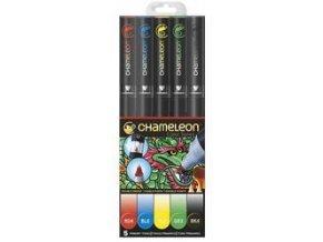 Fixy Chameleon sada 5ks základní barvy 502