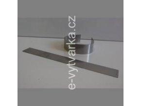 Nerezový proužek polotvrdý na výrobu FIMO náramku