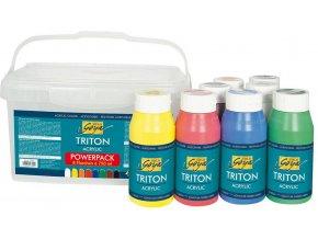 Sada akrylových barev Solo Goya Triton Acrylic (8x750 ml)